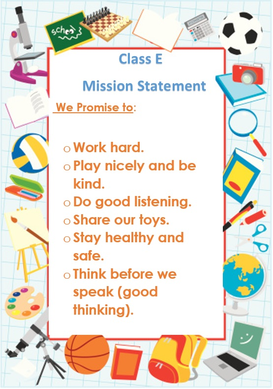 Class E mission statement